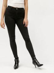 MISSGUIDED černé jeggings s vysokým pasem