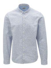Garcia Jeans světle modrá pánská vzorovaná košile