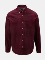 Original Penguin modro-červená kostkovaná košile