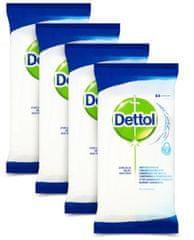 Dettol Antibakteriális felület tisztító törlőkendő 4 x 84 db