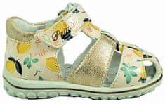 331c35754ecc0 Primigi dievčenské sandále s citrónmi
