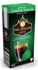 Tre Venezie kapsułki CREMA SOAVE do ekspresów do kawy Nespresso, 10 szt.