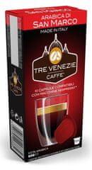 Tre Venezie Arabica Di San Marco set kapsul za kavni aparat Nespresso, 60 kosov
