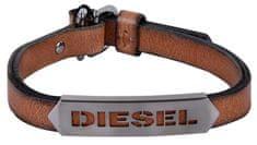Diesel Pánsky kožený náramok DX1000060