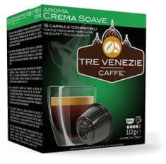 Tre Venezie kapsułki CREMA SOAVE do ekspresu do kawy Dolce Gusto, 16 szt.