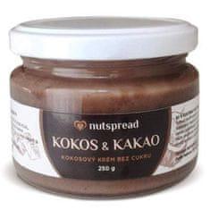Nutspread 100% Kokosové máslo s kakaem 250g