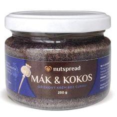 Nutspread 100% Kokosovo-makové máslo 250g