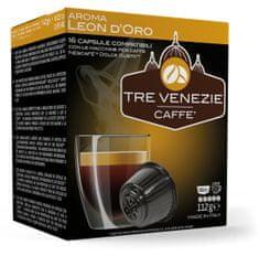 Tre Venezie Leon D'Oro set kapsul za kavni aparat Dolce Gusto, 64 kosov