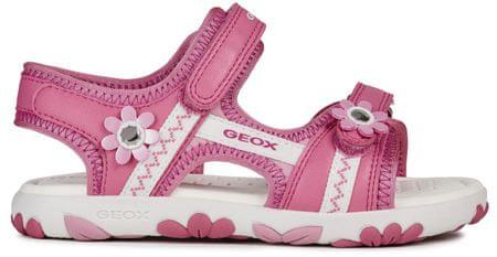 Geox dekliški sandali Hahity, 24, roza