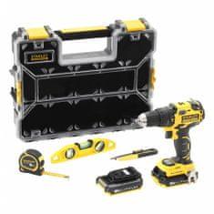 Stanley akumulatorska bušilica/odvijač, Brushle, 18 V 2,0AH (FMCK627D2H3)