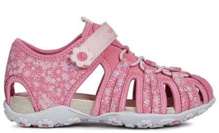 Geox dívčí sandály Roxanne 24 růžová