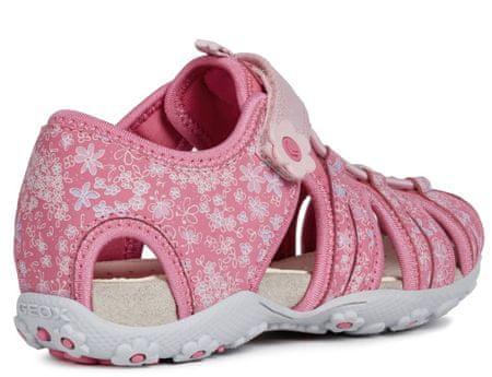 d5fadeaad5e1 Geox dievčenské sandále Roxanna 24 ružová
