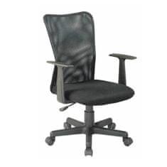 Kancelárska stolička, čierna, REMO NEW