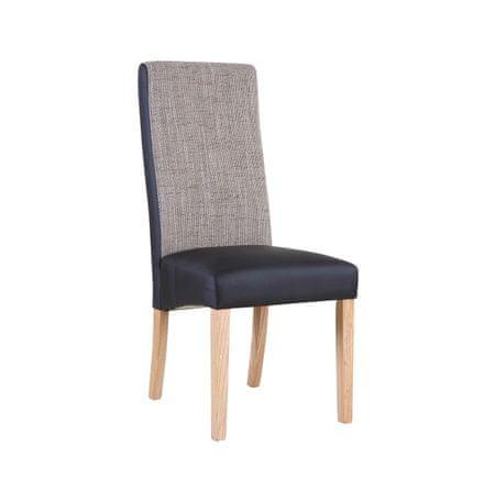 Stolička, natural/čierna/melír, ARDON