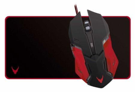 Omega gaming optična miška VSETMPX2 + gaming podloga za miško