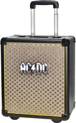 Hordozható iDance AC/DC TNT3 Bluetooth hangszóró USB bemenet csatlakozó gitárra mikrofon erős basszusok vintage dizájn