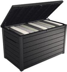 KETER vrtni zaboj ONTARIO box, 870 l, antracitna
