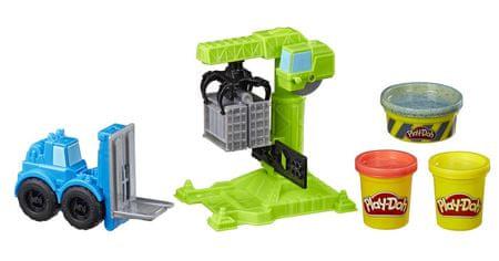 Play-Doh Wheels Építkezés