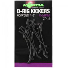 Korda Rovnátka Kickers D Rig Green 10 ks