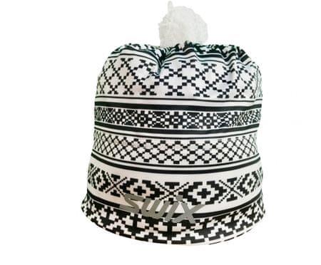 Swix czapka Myrene Czarna-biała OS