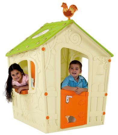 KETER domek do zabaw dla dzieci MAGIC PLAY HOUSE - beżowy