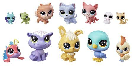 Littlest Pet Shop velik paket živali - Cupcakes