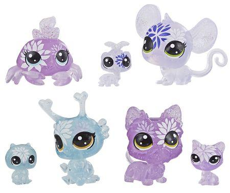 Littlest Pet Shop Virágos állatkák 7 db hortenzia
