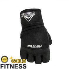 POLEDNIK Fitness rukavice Hector s omotávkou