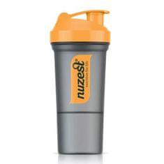 Nuzest Šejkr Smart oranžový 350ml.