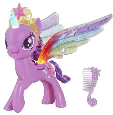 My Little Pony Twilight Sparkle szivárványos szárnyakkal