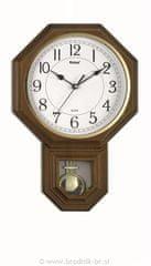 Brodnik ura z nihalom, temno rjava - odprta embalaža