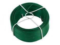 Vázací drát 0,9/1,4mm Zn+PVC v drátěném obalu - délka 60 m