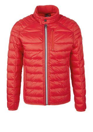 s.Oliver férfi kabát M piros