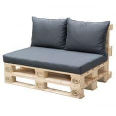 Doppler jastuci za paletna sjedala, antracit