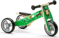 Nicko Dřevěné odrážedlo 2v1 mini - Opička