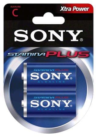 Sony alkalne baterije AM2-B2D LR14, tip C, 2/