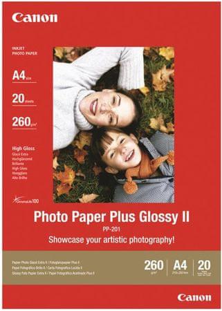 CANON PP-201 Fényes fotopapír, A3