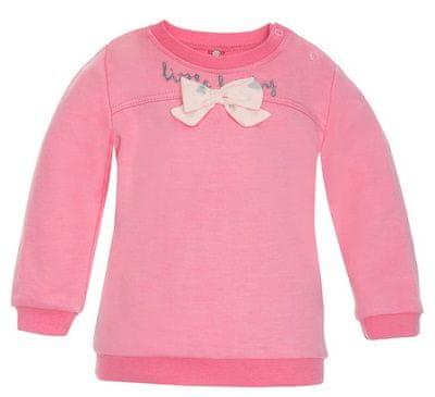 2be3 Little lady lány póló masnival 62 rózsaszín