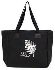 Art of Polo Bevásárló táska Leaf tr16126 .4 Black