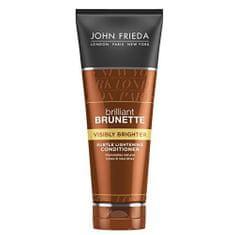 John Frieda Kondicionér pro lesk hnědých vlasů Brilliant Brunette Visibly Brighter (Subtle Lightening Conditioon