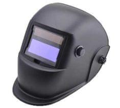 Popar maska elektronska v kartonski škatli. črna