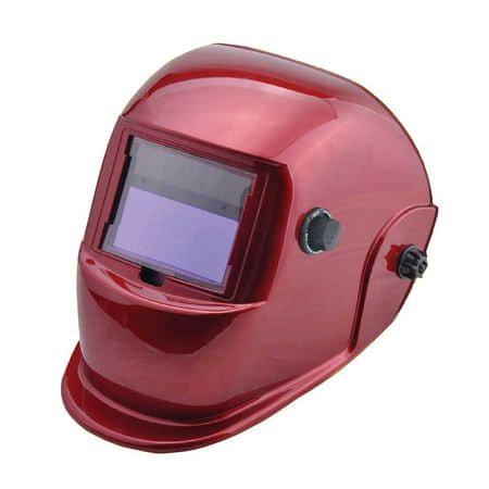 Popar maska elektronska v kartonski škatli, rdeča