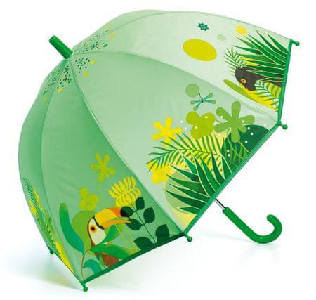 Djeco parasol przeciwdeszczowy Tropikalna dżungla