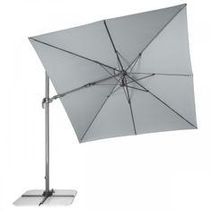Doppler Slunečník Ravenna Axial 275x275cm šedý