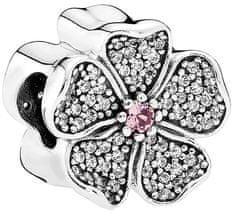 Pandora Błyszczące kwiaty zgrubienie jabłkowy 791831NBP srebro 925/1000