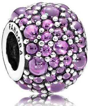 Pandora Csillogó lila gyöngy791755CFP ezüst 925/1000
