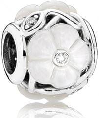 Pandora Luxusné korálku Perleťové kvety 791894MOP striebro 925/1000