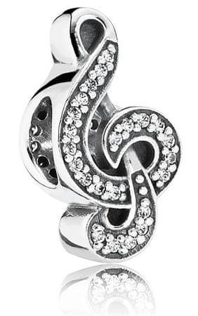 Pandora Ezüstviolinkulcs gyöngy791381CZ ezüst 925/1000