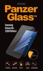 PanzerGlass Edge-to-Edge Samsung Galaxy A8 Plus-hoz 2018 átlátszó (7140)