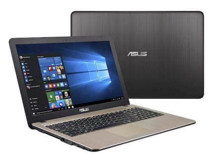Asus prenosnik VivoBook 15 X540UB-DM232 i3 -8130U/8GB/SSD 256GB/MX110/15,6''FHD/W10H (90NB0IM1-M03200_W10)